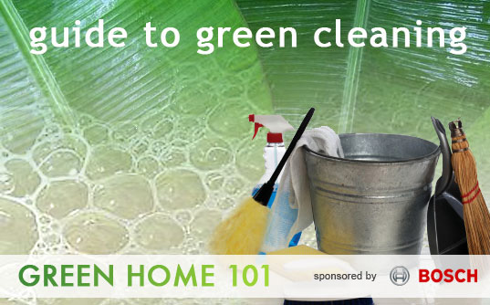 Green Cleaning 101, Green Home 101, Eco cleaners, green cleaners, healthy cleaners, Inhabitat series, green cleaning