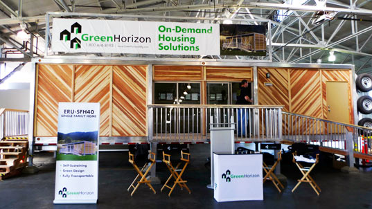 sustainable design, green design, green horizon, prefabricated building, emergency relief, design for disaster, modular housing