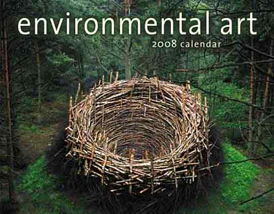 Greenmuseum Environmental Calendar 2008, online environmental art, museum eco-art, environmental installation art, Amber Lotus Publishers Sam Bower