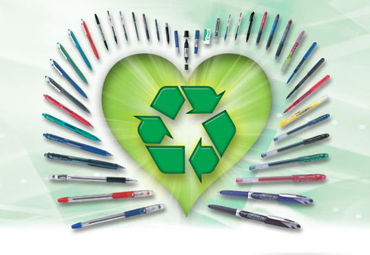 Green school supplies, eco school supplies, eco back to school, sustainable school supplies, green pens, green pencils, eco pencils, recycled paper, recycled floppy disk, green office supplies, eco office supplies