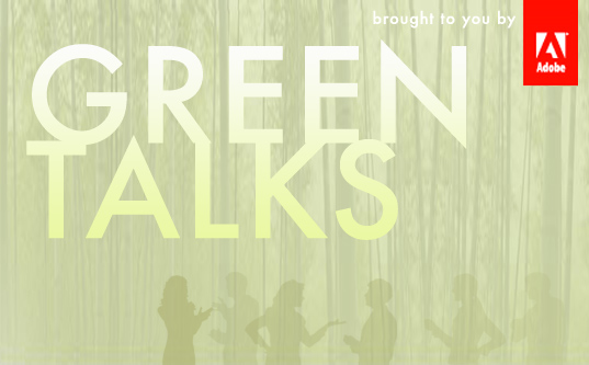 greentalks banner, adobe conect pro, inhabitat