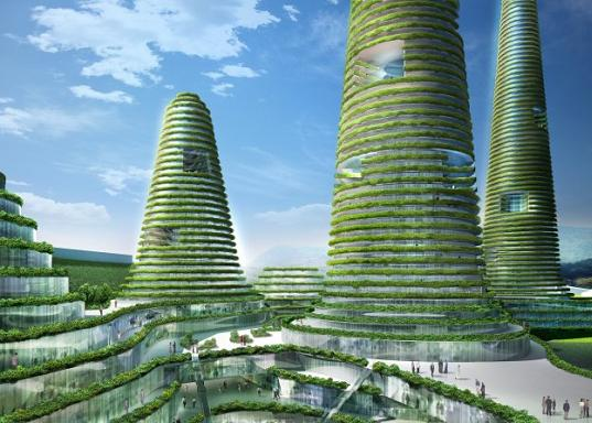 Mvrdv designs gwanggyo green power center inhabitat for Eco building design