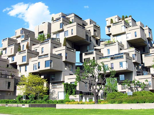 Habitat 67, World Expo 67, Moshe Safdie, affordable housing, prefab, prefab dwellings, modular housing, Montreal, Canada