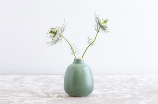 Heath Ceramics, Heath bud vase, heath ceramics eco-friendly, eco-friendly ceramics, green ceramics