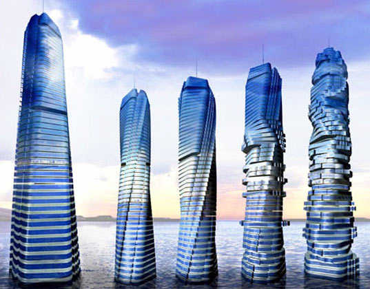 sustainable design, green design, dubious dubai, green building, david fisher rotating tower