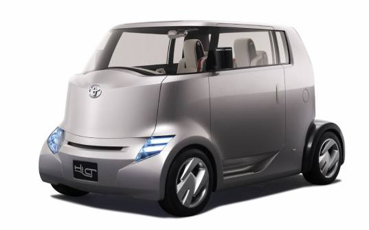 hi-ct, toyota, hybrid, powertrain, electric, concept vehicle