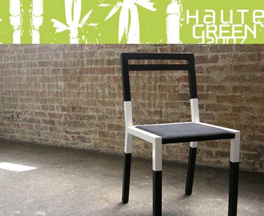 Hi Five, Hi-Five, Kiel Mead, Green furniture, HauteGreen, BKLYN Designs, Richlite, Richlite Chair, Organic Cotton Upholstery