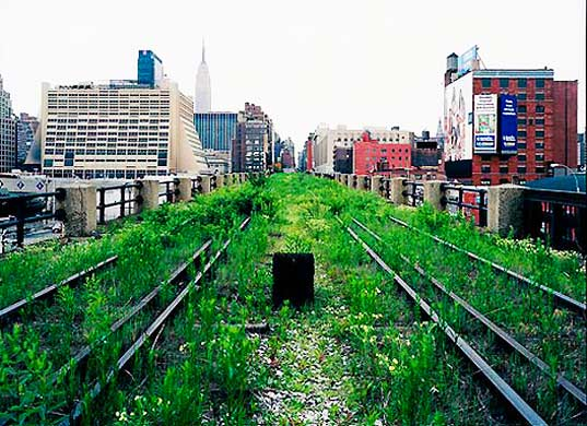 High Line railway