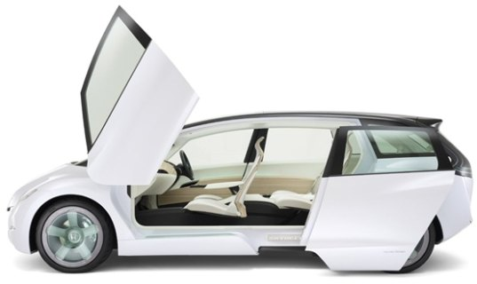 sustainable design, green design, transportation, electric vehicles, alternative transportation, honda, skydeck, ev, concept