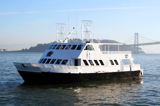 hornblower hybrid, hybrid boat, alcatraz ferry, wind powered ferry, solar powered ferry, hybrid ferry
