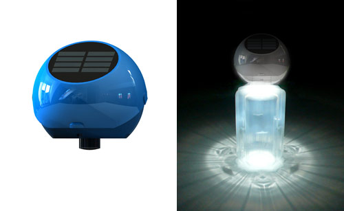 miniwiz solarbulb, sustainable design, solar lighting, green design, green gadget, energy efficient lighting