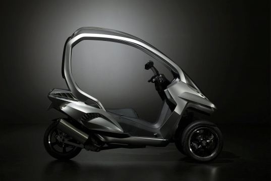 hymotion3, peugeot hymotion3, hymotion3 concept scooter, concept scooter, electric scooter, full body chassis scooter, hybrid scooter, hybrid peugeot, peugeot motorcycles, hybrid motorcycle