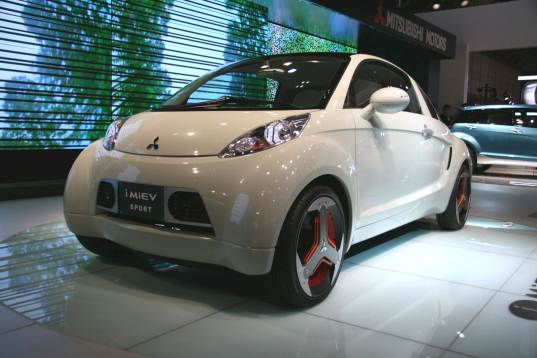 i-MIEV, mitsubishi, tokyo, motor, vehicle, sport, lithium, plug-in, plug, in, car, concept, design,