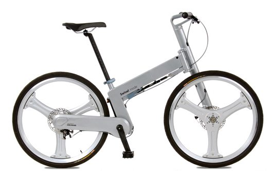sustainable design, green design, transportation, bicycle, bike, cycling, mark sander's swivel mode bike