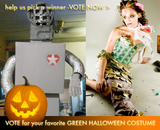 inhabitat green halloween contest, inhabitat halloween, halloween costume contest, green design, sustainable design, green costumes, freeplay flashlight