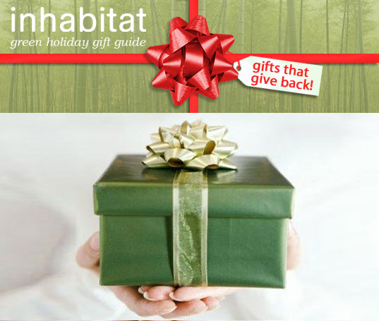 inhabitat green gift guide, sustainable gift guide, 2008 green gift guide, christmas gift ideas, hanukkah gift suggestions, sustainable design