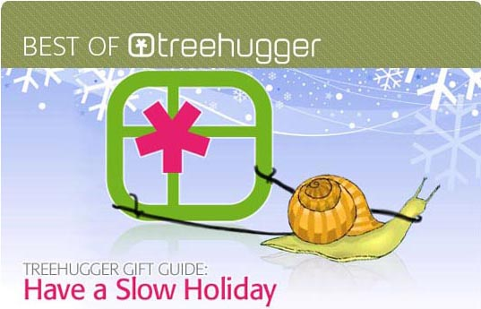 sustainable design, green design, treehugger, slow gift guide 2009