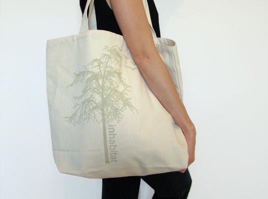 INhabitote, Inhabitat tote bag, Inhabitat bag, eco tote, eco-friendly tote bag
