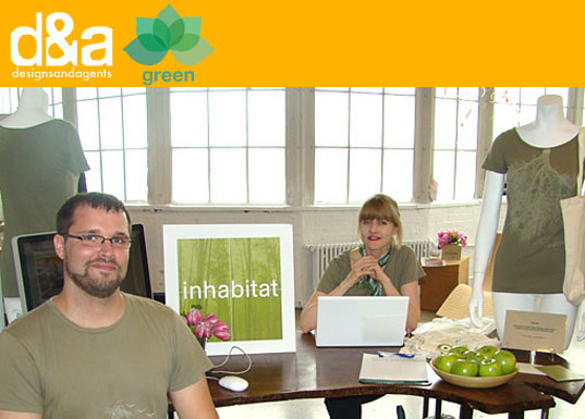inhabitat, green room, d&a, designers and agents, jason sahler, jill fehrenbacher, sustainable fashion, green fashion