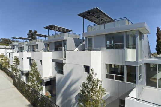 Jesse Bornstein Architecture, Green on 19 Townhomes, green materials, sustainable building, sustainable design, urban design, Santa Monica