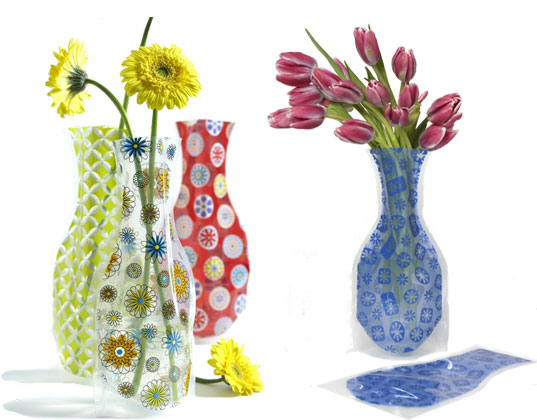 eco-friendly vases,  jill-able fill me up vases,  jill-able vases,  jillable vases,  plastic vases