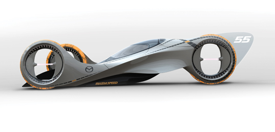 kaan concept vehicle, maza concept car, future of racing, electric ...: inhabitat.com/kaan-concept-car-by-mazda
