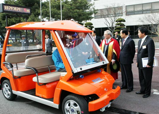 olev, hybrid, electric, kaist, korea, sustainable transportation, green design