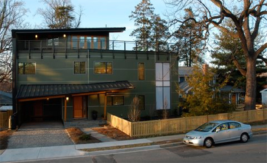 Kaplan Thompson House Virginia S First Leed Platinum Home
