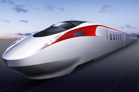 Kawasaki Reveals The Fastest Bullet Train in Japan ...