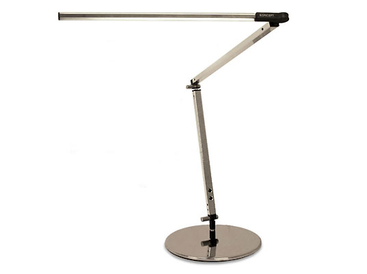 Koncept Z-Bar LED Desk Lamp, LED Desk Lamp, Koncept Design, Eco-friendly energy efficient LED Desk lamp, Z-Bar High Power desk lamp