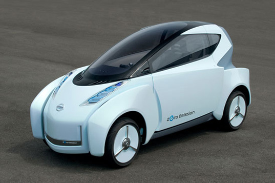 sustainable design, green design, transportation, electric vehicles, alternative transportation, Nissan Landglider