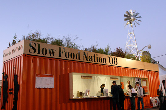 slow food nation, sustainable agriculture, gourmet food, slow food nation tasting pavilions