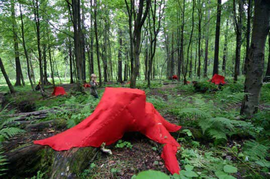 Lea Turto, The Sacred Realm of the Forest Elf, helsinki environmental art