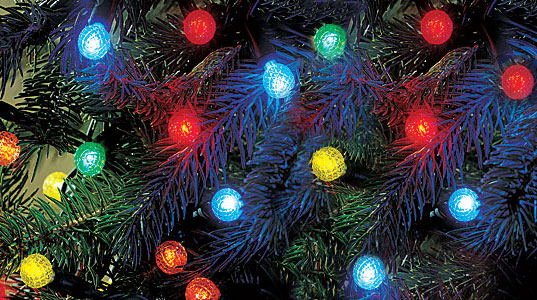 LED Christmas lights, LED Xmas Lights, LED Holiday Lights, energy efficient lights, LEDs, LED holiday lights, efficient bulbs, sustainable lighting, green your christmas tree, green christmas,