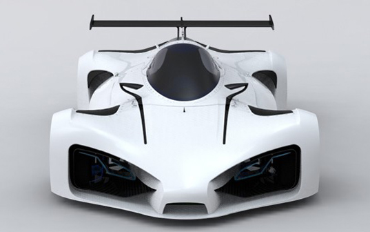 sustainable design, green transportation, Green Gt, Le Mans Race, Electric Le Mans Race Vehicle, concept electric car, Le Mans Racer, Electric sportscar, electric racing, 24 hour race
