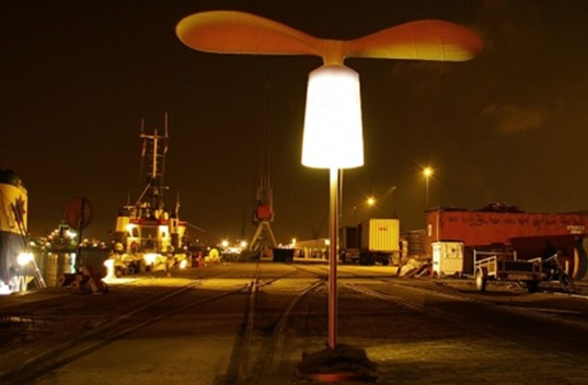 Light Wind, Demakersvan, Wind Power, Clean Energy, Outdoor Light Installation