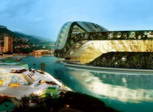 lilypad, floating cities, Vincent Callebaut, biomimicry inspired city, lilypad floating city, global warming solution, rising seas concept, refugee city, climate refugee