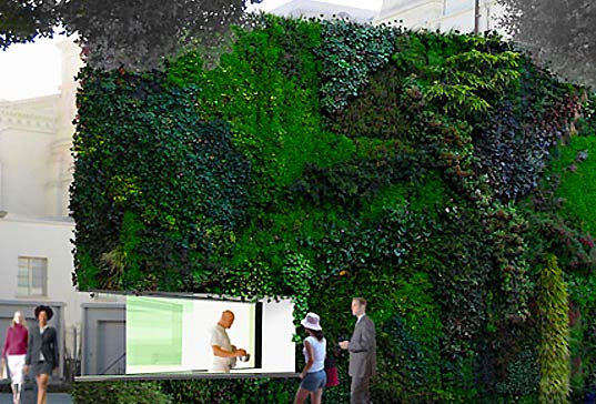 vertical garden, green building, urban agriculture, retrofitting, building renovation