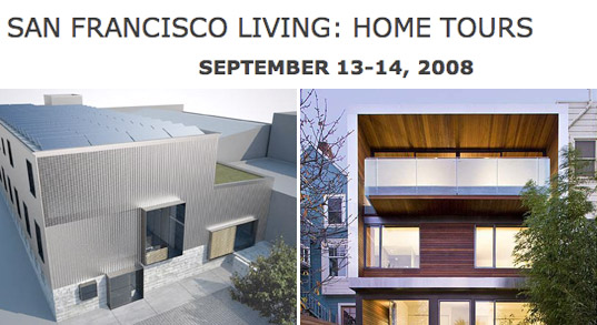 san francisco living: home tours, sustainable architecture tours, architecture and the city festival, san francisco home tours, residence tours, architecture event, green building tours, dwell, aia, american institute of architects