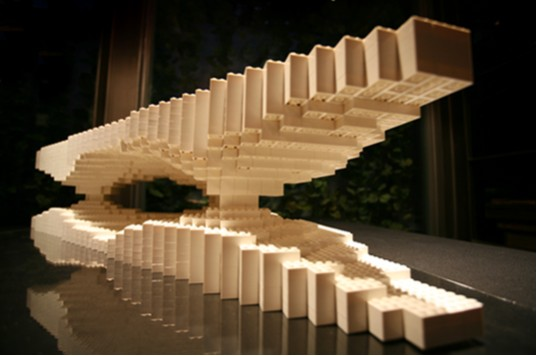 Building Asia Brick by Brick, ArtAsiaPacific Magazine, People's Architecture Foundation, LEGOs, Ma Qingyun for MADA s.p.a.m. Architectural Model, Shanghai & Los Angeles