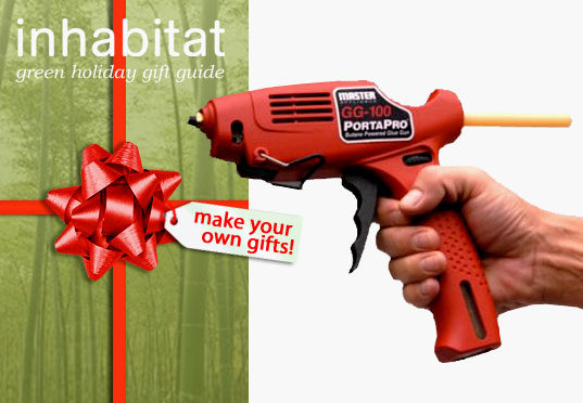 inhabitat green gift guide, sustainable diy gifts, green homemade gifts, holiday gift giving, crafted gifts, handmade gifts, presents, homemade gifts, how to make your own gifts, gift DIY, green gift DIY, green gift how-tos