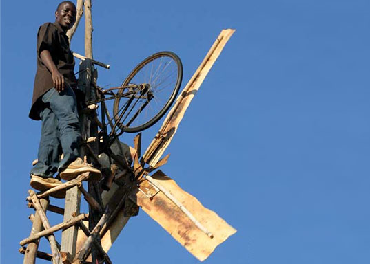 Malawi village wind turbine, William Kamkwamba, Wind power in Malawi, Soyapi, African student builds wind turbine, Malawi youth builds wind turbines, Wind Power in Africa, Wind Power in the developing world, wind power in developing countries, Emeka Okafor, TED, Homemade green power, DIY Windmill