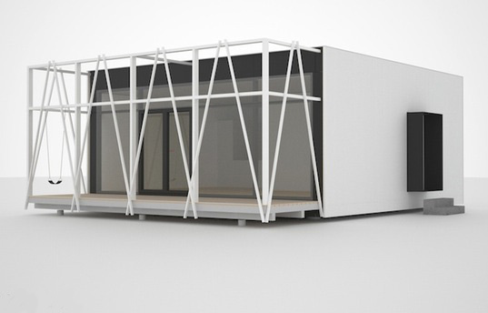 prefab friday, prefab, prefab home, mario handle, prefab concept, net zero home, passiv-haus, passive design, passive solar design, cellulose insulation