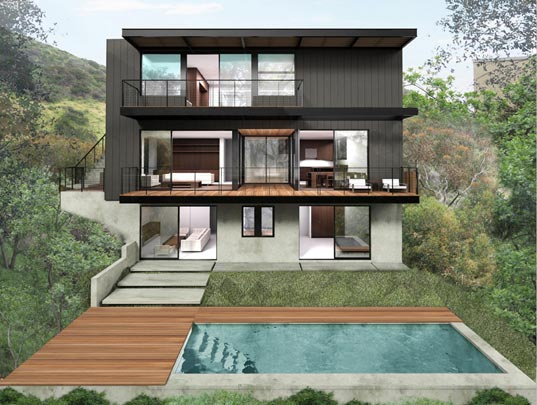 Marmol Radziner, sustainable design, green design, los angeles, prefab architecture, green building
