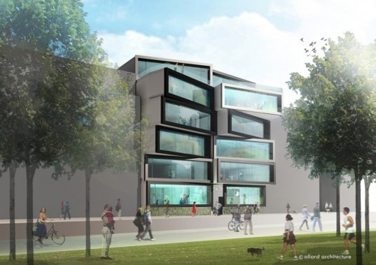 PREFAB: Playful Office Building Planned for Amsterdam | Inhabitat ...