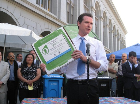 sustainable design, green design, san francisco, recycling initiatives, compost, agriculture, public policy, gavin newsom