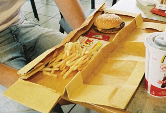Student designs biodegradable packaging for mcdonald s for House material packages