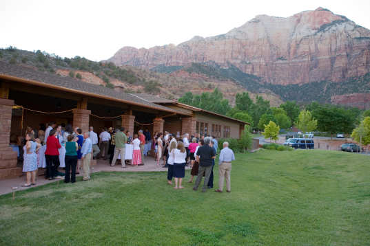 Green Wedding, Location, zion national park