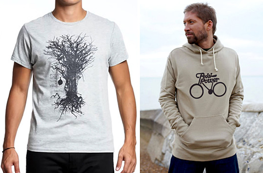 Edun Men's Collection, Edun Twisted Tree Tee, organic cotton tee, People Tree UK, Pedal Power Hoody, Fair Trade