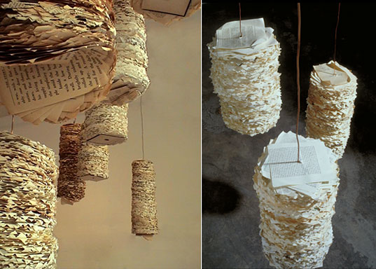 Susan Benarcik, Susan Benarcik artist, Susan Benarcik enviro art installations, Susan Benarcik eco art, Susan Benarcik sculpture, recycled paper enviro art, recycled art installation, NYC eco art, NYC environmental art, Susan Benarcik surface designs, Susan Benarcik organic style
